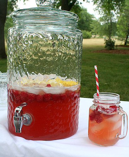 Raspberry lemonade beer | by freshlypieced