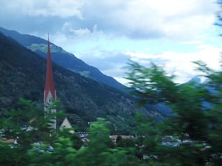 Alta Val Venosta, campanile aguzzo