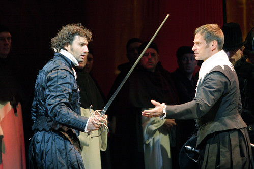 Jonas Kaufmann as Carlos and Simon Keenlyside as Posa in Don Carlo © ROH/Catherine Ashmore, 2009 | by Royal Opera House Covent Garden