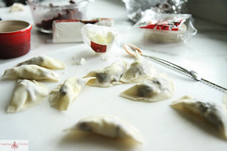 Olive and Goat Cheese Ravioli | by Heather Christo
