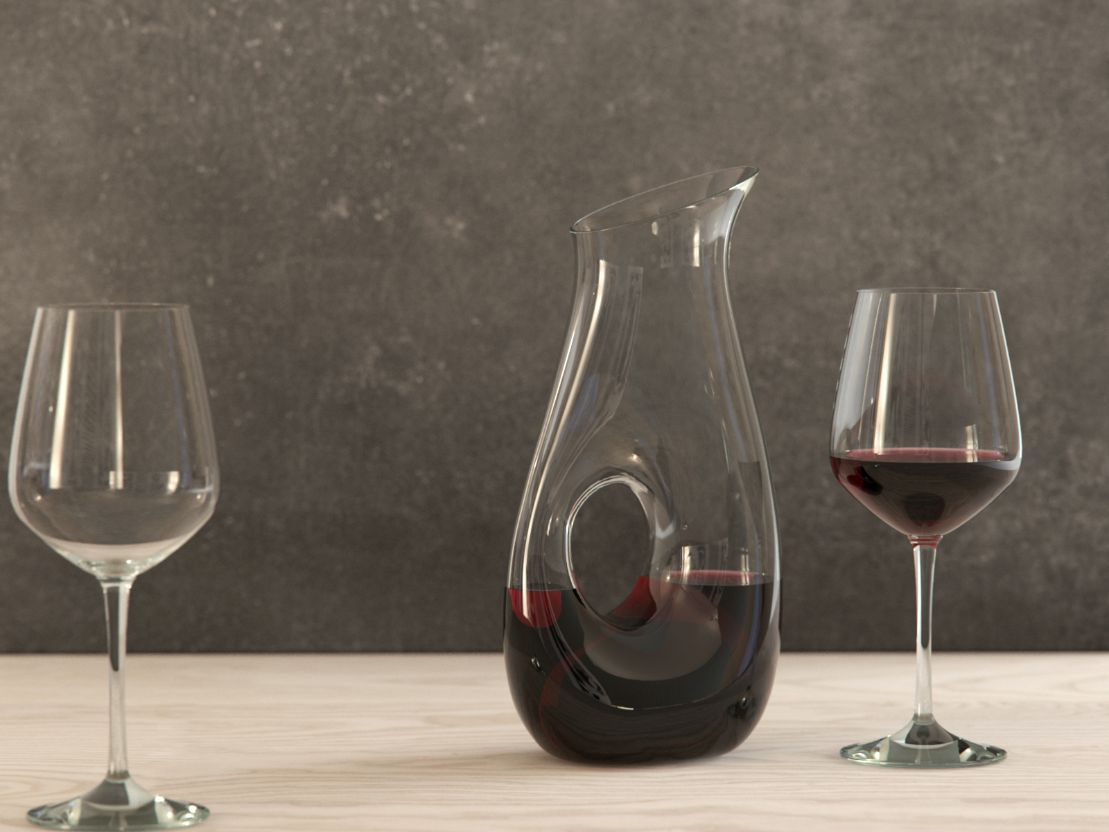 Ona Large Pitcher (wine)