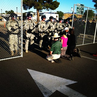 #hiroshima @nancymancias @codepink & 3 more arrested @Livermore_Lab #ows #oo #occupysf | by Steve Rhodes