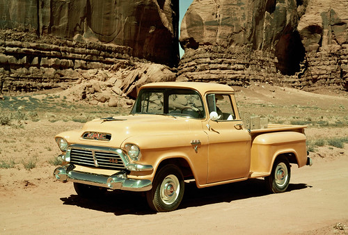 1957 GMC Stepside Pickup Truck | by coconv