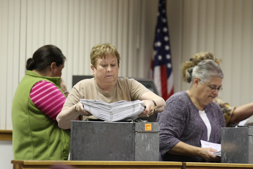 Counting early votes | by fayettevilleflyer