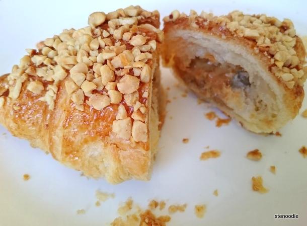 Peanut Butter Filled Croissant