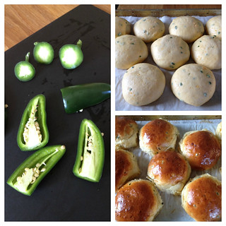 Jalapeño Cheddar Rolls | by Tracey's Culinary Adventures