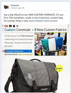Custom Commute Launch on Facebook | by Timbuk2 Designs