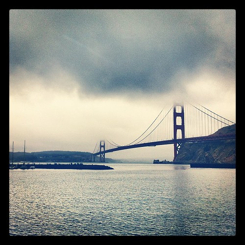 Looks like @karlthefog might be here all day. Don't forget your jackets! | by Bay Area Discovery Museum