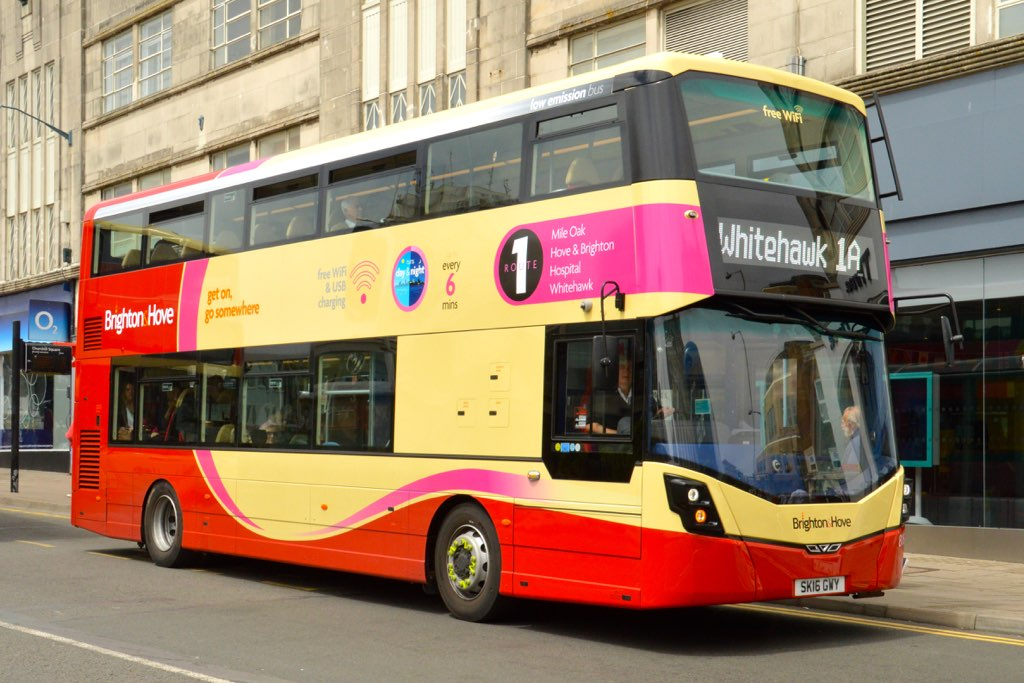 Brighton and Hove Streetdeck Fleet 816