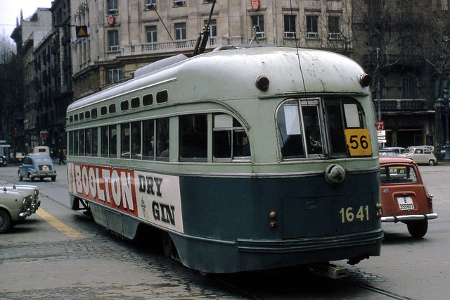 JHM-1969-0200 - Espagne, Barcelone, tramway PCC ex-Washington