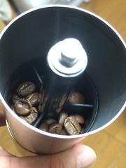 手回しコーヒーミル 2016.5