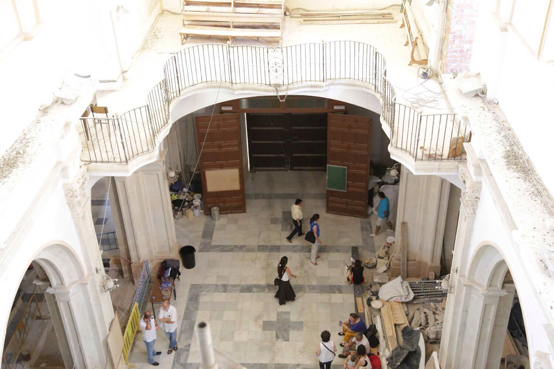 iglesia de santiago lorca_ cúpula_patrimonio_rehabilitación_premio europa nostra_foton vía albert Brufau