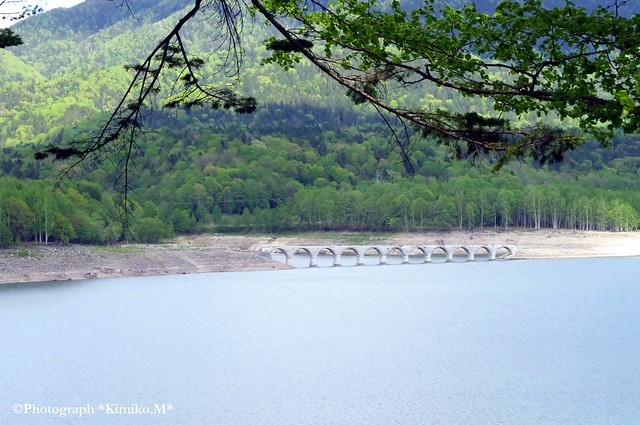 タウシュベツ橋梁①