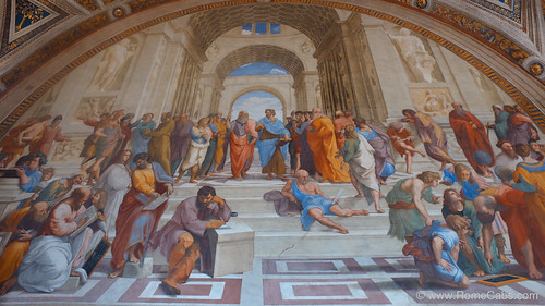 School of Athens, Vatican Museums