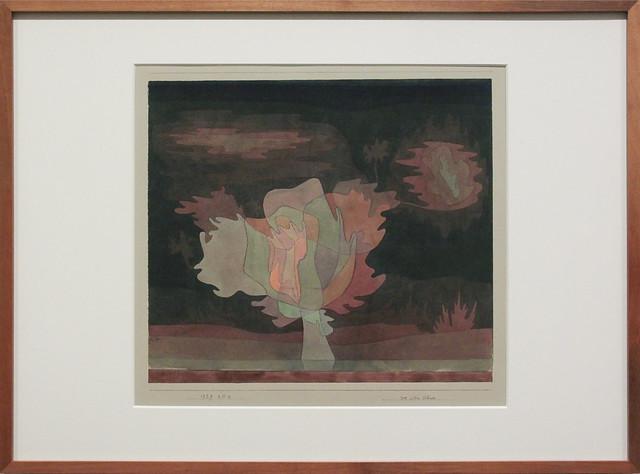 vor dem Schnee, Paul Klee, 1929
