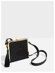 Zara embossed cross body bag