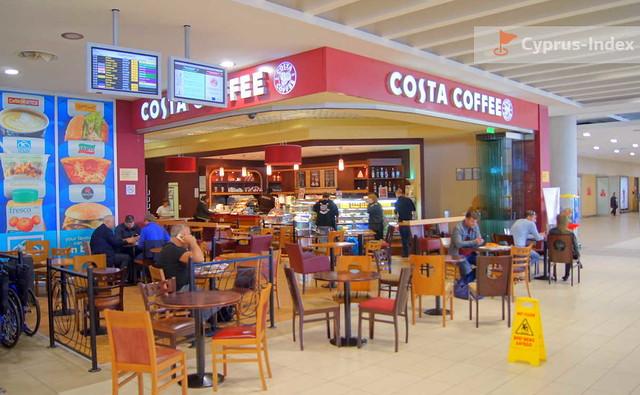 Кофейня в Аэропорту Пафос, Кипр