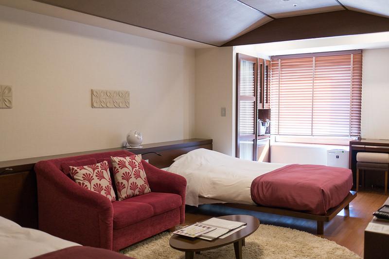定山渓 鶴雅リゾートスパ 森の謌、部屋の様子