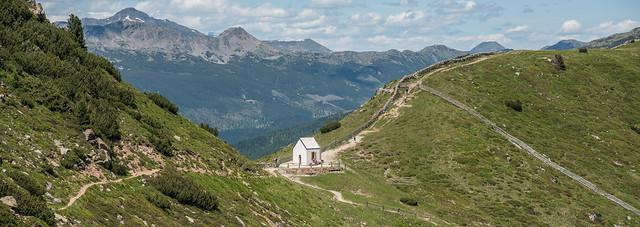 Totenkirchl auf dem Übergang zwischen Eisacktal und Sarntal