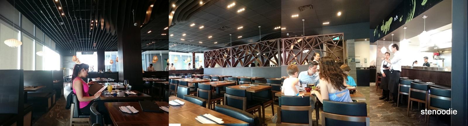 Kiu Japanese Restaurant interior
