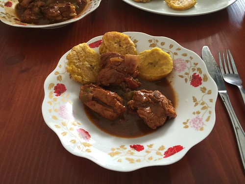 Pollo asado & Platanos
