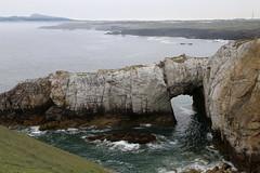Bwa Gwyn (White Arch), Ynys Gybi