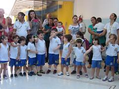 Oração com a participação dos pais do Infantil 4-A, 4-B, 4-C (Manhã/Tarde).