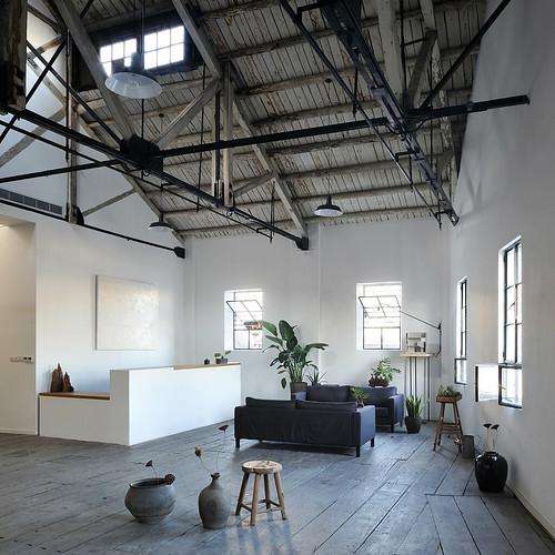 Naturalbuild 直造建築事務所 - Waimatou Co-work Loft 上海南外灘倉庫改造