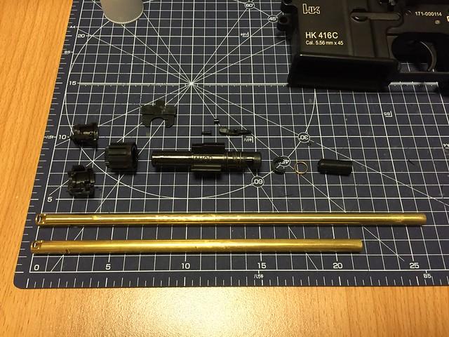 TM HK416C chamber parts