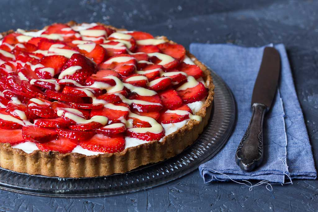 Erdbeer Tarte via lunchforone