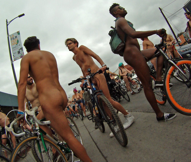 LA World Naked Bike Ride (0096B)