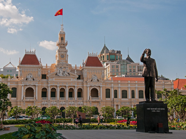 Ho Chi Minh City Hall and Statue