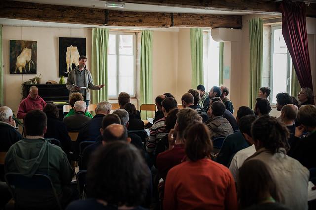 Rencontres 2016 de l'Atelier Paysan