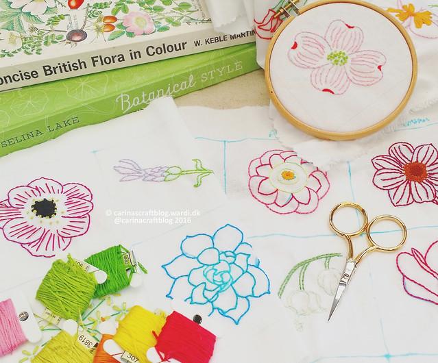 Maybroidery Flowers