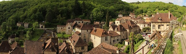Saint-Cirq en panoramique