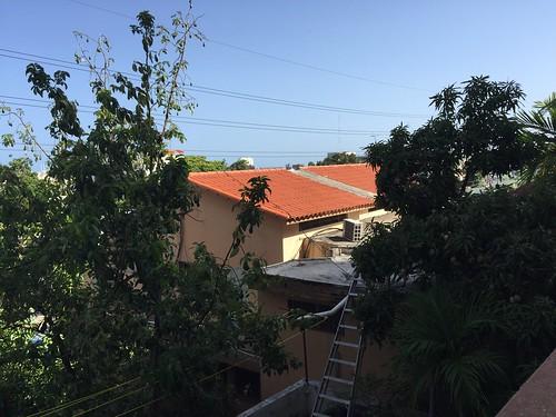 View vom balcony / Apart Hotel Atalaya @ Santo Domingo
