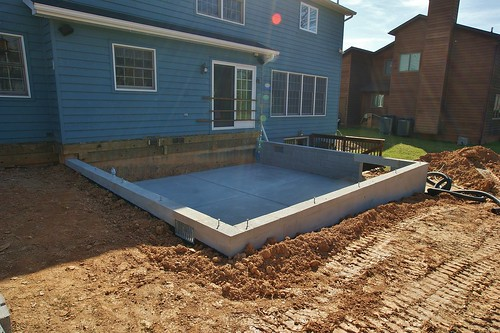 Footing block foundation and slab are complete footing for Types of slabs for house