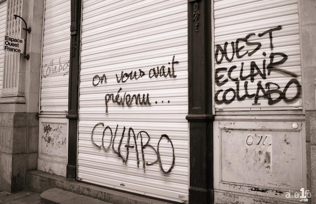 [26 Mai 2016] - Un jour, une photo... Sale temps pour Ouest-France...