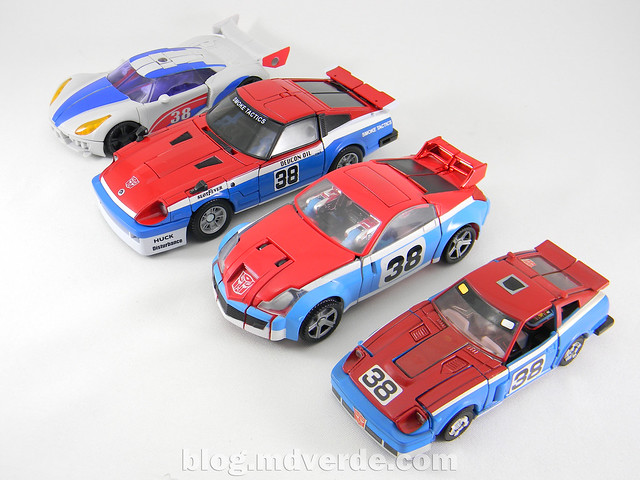 Transformers Smokescreen - Masterpiece - modo alterno