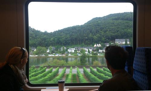 río Mosela en tren (espectacular)