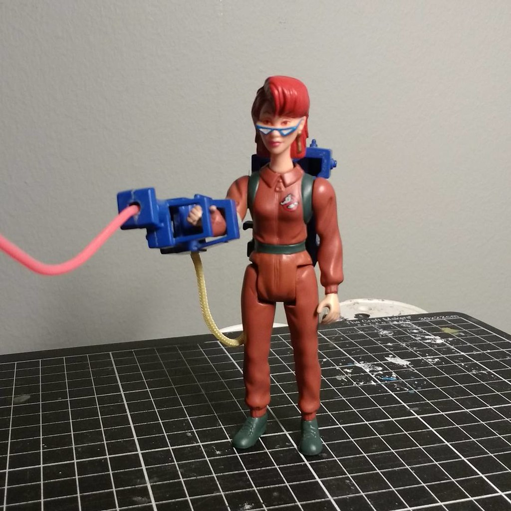 Custom action figures by Stolf - The Real Ghostbusters Janine's Genie