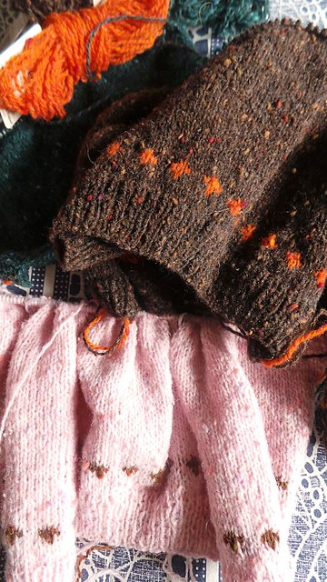 WIP dolly knits