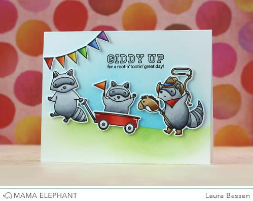 Mama Elephant-Rowdy Raccoon