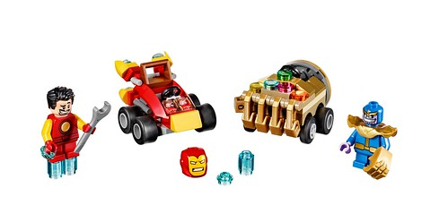LEGO Marvel Mighty Micros Iron Man vs. Thanos