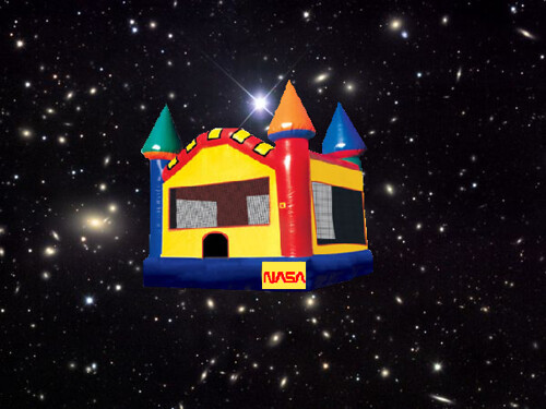 Bouncy Castle in Space!