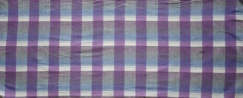 遠州綿紬×注染 喜多屋商店 紫