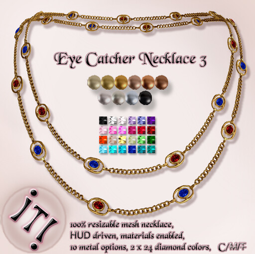 !IT! - The Eye Catcher Necklace 3 Image