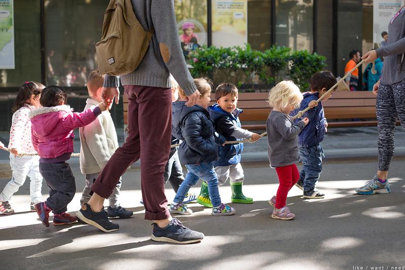 Niños, El Poblenou