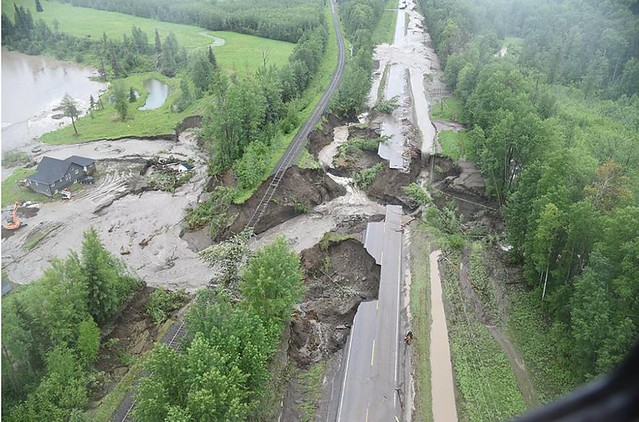 Extensive Flooding in the Peace Region, June 16, 2016