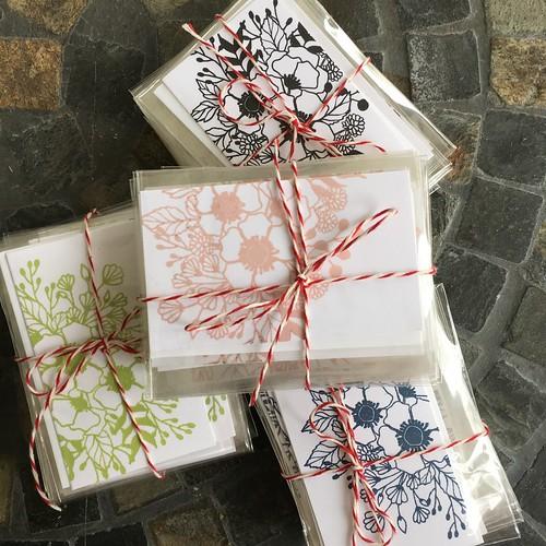 Mini flower cards - wplus9 botanical bunch